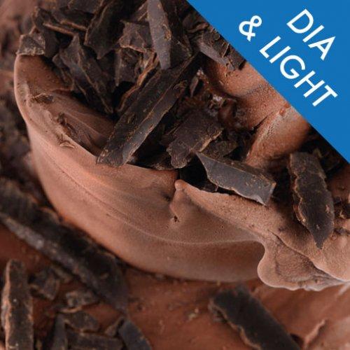 HELADO BAJO EN CALORIAS SABOR CHOCOLATE<p>BOLSA 1,25 KILOS</p>