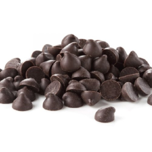 CHOCOLATE NEGRO EN GOTAS. CACAO 64% MIN. Caja 5 kg